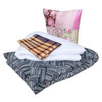 Набор 1-спальный (одеяло 140x205 см, подушка 50x50 см, матрас 70x190 см,  комплект постельного белья)