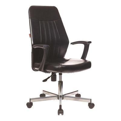 Кресло офисное Easy Chair 224 DSL PPU черное (искусственная кожа/пластик/металл)