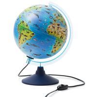 Глобус Globen зоогеографический интерактивный с подсветкой (250 мм)