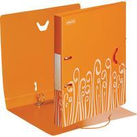 Папка на 2-х кольцах Attache Fantasy 35 мм оранжевая до 300 листов (пластик 0.6 мм)