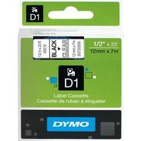 Картридж для принтера этикеток DYMO S0720500 D1 (12 мм x 7 м, цвет ленты прозрачный, шрифт черный)