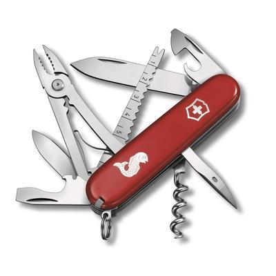 Нож перочинный Victorinox Angler 91 мм 19 функций нержавеющая сталь/пластик