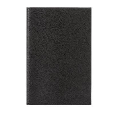 Обложка для паспорта Fabula из натуральной кожи черного цвета (O.1.LG)