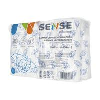 Валики ватные стоматологические Sense Professional в полиэтиленовом  пакете (2000 штук в упаковке)