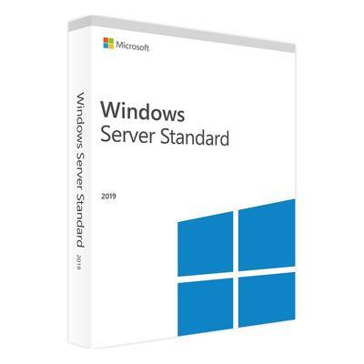 Операционная система Microsoft Windows Server Standard 2019 Russian 4 Core коробочная версия для 1 ПК (P73-07856)