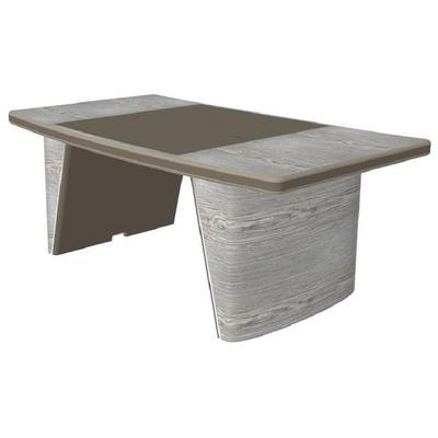 Стол руководителя без траверса New.Tone Nt-190 (дуб серебристый/стоун, 1900х1080х740 мм)