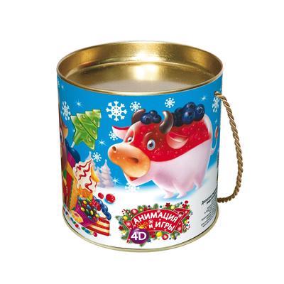 Новогодний сладкий подарок Вкусняшки 500 г (с 4D игрой и купоном)