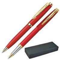 Набор письменных принадлежностей Pierre Cardin Pen&Pen красный (шариковая ручка, роллер)