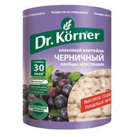 Хлебцы Dr.Korner Злаковый коктейль черничный пшеничные 100 г