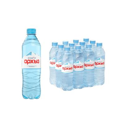 Вода минеральная Легенда Гор Архыз негазированная 0.5 л (12 штук в упаковке)