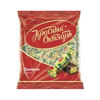 Конфеты шоколадные Красный Октябрь Цитрон 250 г