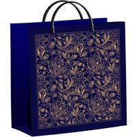 Пакет подарочный полиэтиленовый Подарочный узор (30x30x9 см)