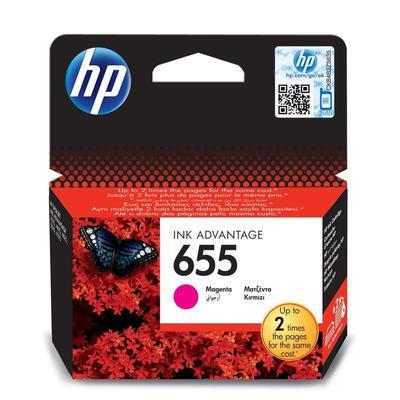 Картридж струйный HP 655 CZ111AE пурпурный оригинальный. Уценка_техники