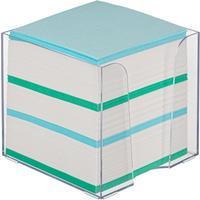 Блок для записей Attache 90x90x90 мм разноцветный в боксе (плотность 65 г/кв.м)