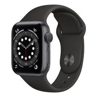 Смарт-часы Apple Watch Series 6 черные (MG133RU/A)