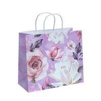 Пакет подарочный из крафт-бумаги Love (28x32x15 см, 6 штук в упаковке)