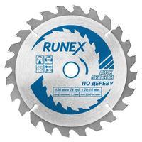 Диск пильный Runex по дереву 180х20/16 мм Z24 (551006)