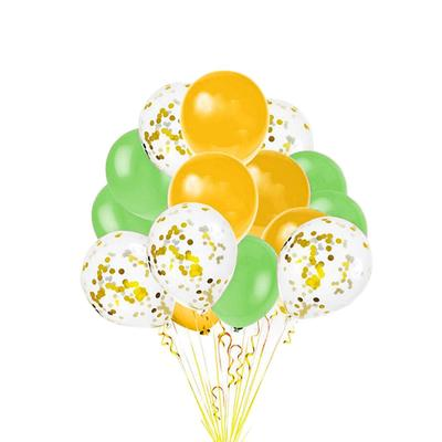 Набор шаров Летняя фантазия розовый/золотистый (15 штук в упаковке)
