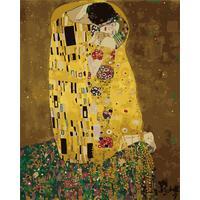 Картина по номерам Цветной Поцелуй Густав Климт