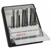 Набор пильных полотен Bosch Wood Expert для лобзика (10 штук, артикул производителя 2607010540)