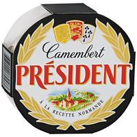 Сыр President Camembert мягкий с белой плесенью 45% 125 г