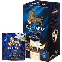 Чай Richard Royal Black Jasmine черный с жасмином 25 пакетиков