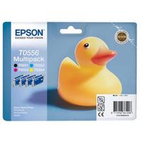 Набор картриджей Epson T0556 C13T05564010 Multipack (4 цвета)