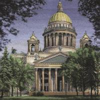 Набор для вышивания Panna Исаакиевский собор