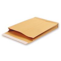 Пакет Bong Gusset С4 (229x324 мм) из крафт-бумаги 130 г/кв.м стрип (200 штук в упаковке)