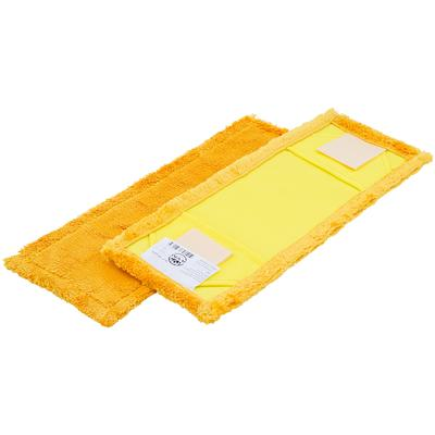 Насадка МОП плоская A-VM микрофибра 40x13 см желтая
