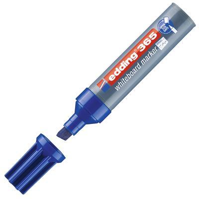 Маркер для досок Edding 365/3 синий (толщина линии 2-7 мм) скошенный  наконечник