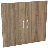 Двери низкие Easy Director (2 штуки, дуб шамони темный, 844х18х792 мм)
