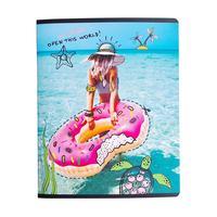 Тетрадь общая Be Smart Discovery Пляж А5 48 листов в клетку на скрепке