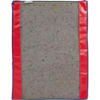 Дезинфекционный коврик ХАССП 50х65х3 см красный