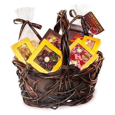 Подарочная сладкая корзина Chokodelika Премиум №3 345 г