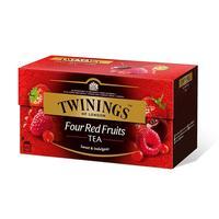 Чай Twinings Four Red Аruit черный 25 пакетиков
