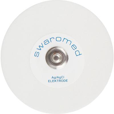 Электроды для ЭКГ одноразовые Swaromed для холтера и стресс-теста D-50 мм твердый гель (50 штук в упаковке)