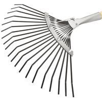 Грабли веерные пластинчатые Сибртех металл 37 см (черенок 146 см)