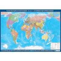 Настенная политическая карта мира 1:22 млн (1570x1050 мм)