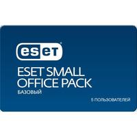 Антивирус Eset NOD32 Small Office Pack база для 5 ПК на 12 месяцев (NOD32-SOP-NS(CARD)-1-5)