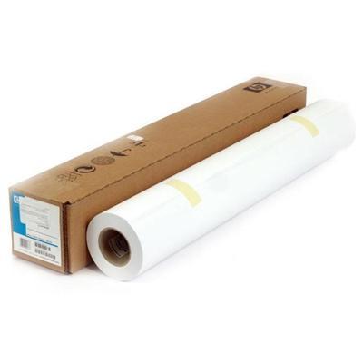 Бумага широкоформатная HP Bright White InkJet (90 г/кв.м, длина 91 м, ширина 914 мм, диаметр втулки 50.8 мм, 1 рулон в упаковке)