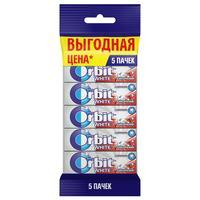 Жевательная резинка Orbit White Классический,без сахара, 5штx13,6г/уп