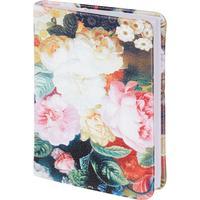 Ежедневник недатированный InFolio Floria искусственная кожа А6 96 листов (100х140 мм)