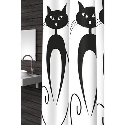 Штора для ванной Bacchetta Cats (180x200 см)