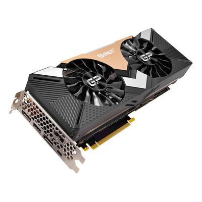 Видеокарта Palit GeForce RTX 2080 Ti Dual (NE6208T020LC-150A)