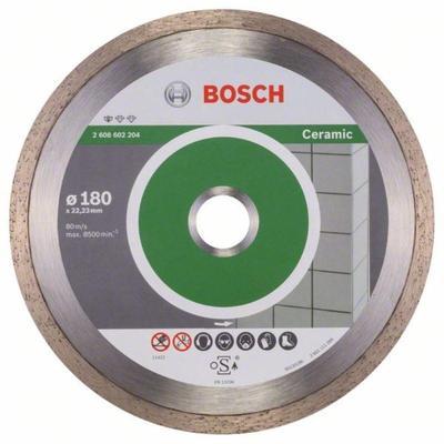 Диск алмазный Standard for Ceramic 180-22,23 Bosch 2608602204