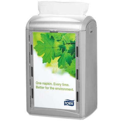Диспенсер для салфеток Tork Xpressnap 272513 N4 настольный пластиковый серый