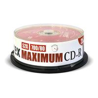 Диск CD-R Mirex 0,7 GB 52x (25 штук в упаковке)