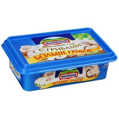 Сыр плавленый Hochland с грибами 55% 200 г