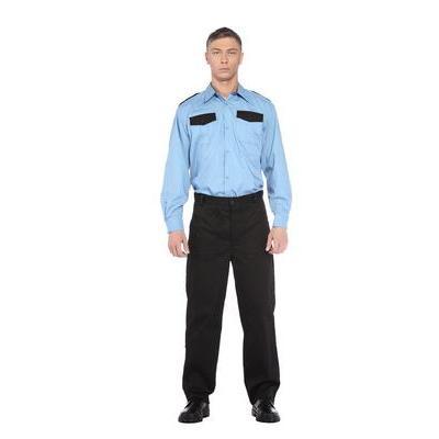 Рубашка для охранника длинный рукав (размер 48-50, рост 170-176)